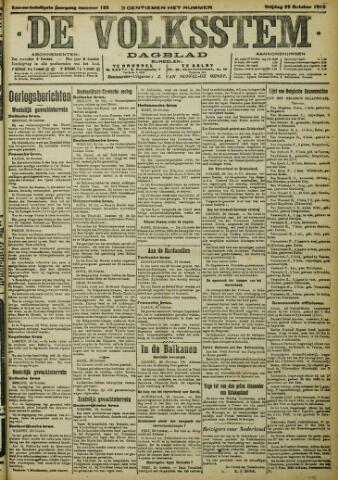 De Volksstem 1915-10-22