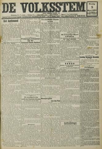 De Volksstem 1931-03-03