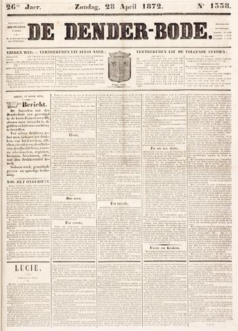 De Denderbode 1872-04-28