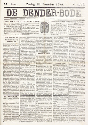 De Denderbode 1879-12-21
