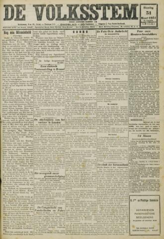 De Volksstem 1931-03-31