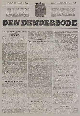 De Denderbode 1853-01-30