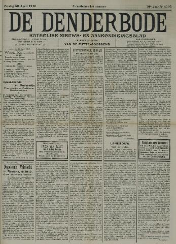 De Denderbode 1916-04-30