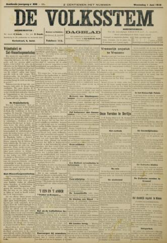 De Volksstem 1910-06-01