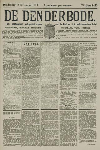 De Denderbode 1911-11-16