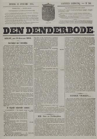 De Denderbode 1854-01-15