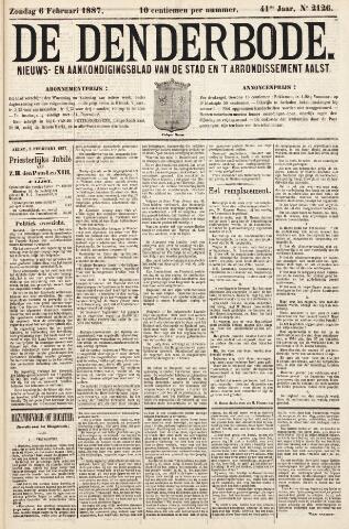 De Denderbode 1887-02-06