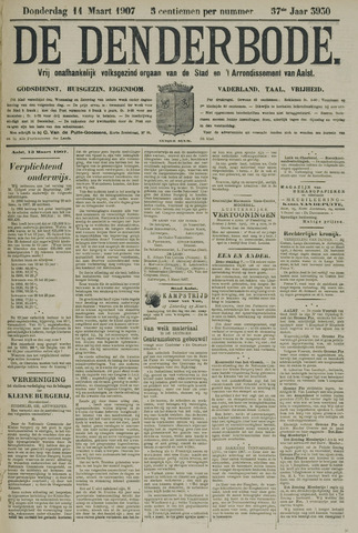 De Denderbode 1907-03-14