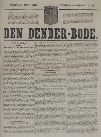 De Denderbode 1850-04-21