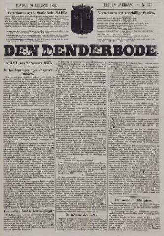 De Denderbode 1857-08-30