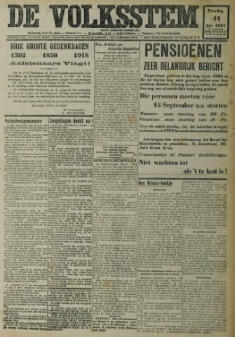 De Volksstem 1931-07-11