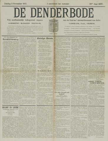 De Denderbode 1912-11-03