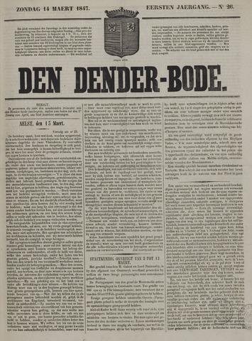 De Denderbode 1847-03-14
