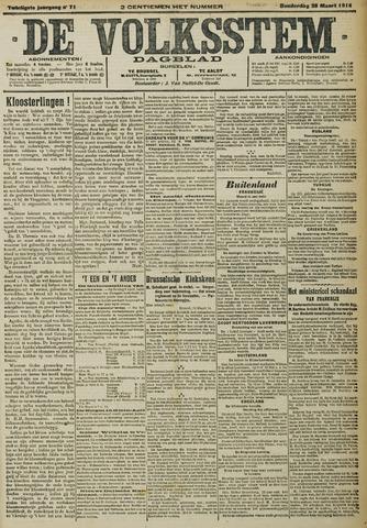 De Volksstem 1914-03-26