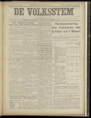 De Volksstem 1941-02-04