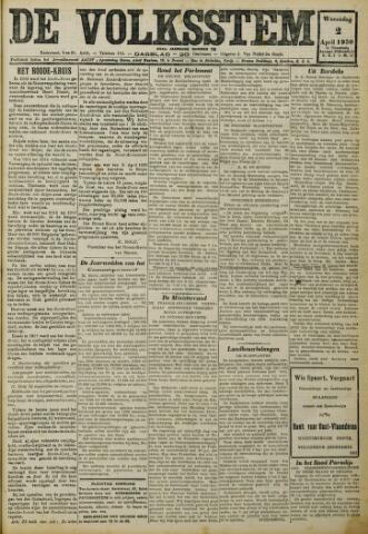 De Volksstem 1930-04-02