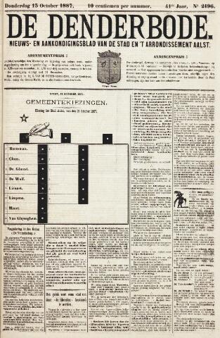 De Denderbode 1887-10-13