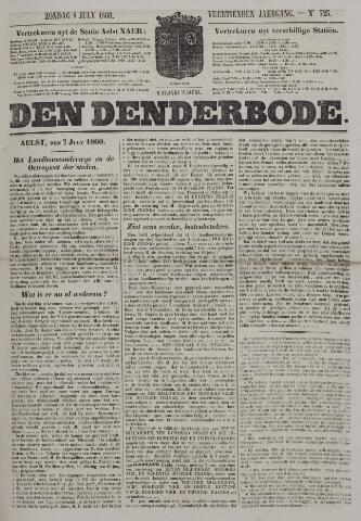 De Denderbode 1860-07-08