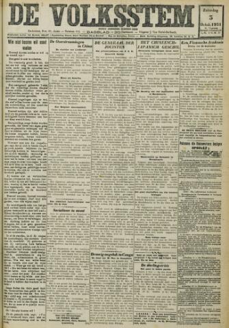 De Volksstem 1931-10-03
