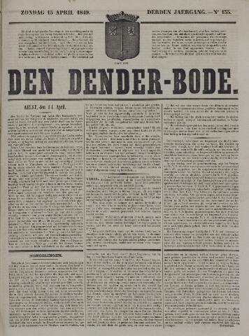 De Denderbode 1849-04-15