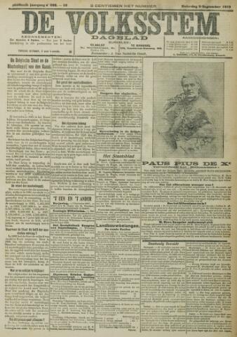 De Volksstem 1910-09-03