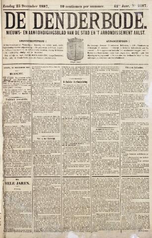 De Denderbode 1887-12-25