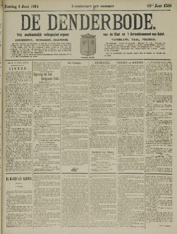 De Denderbode 1911-06-04