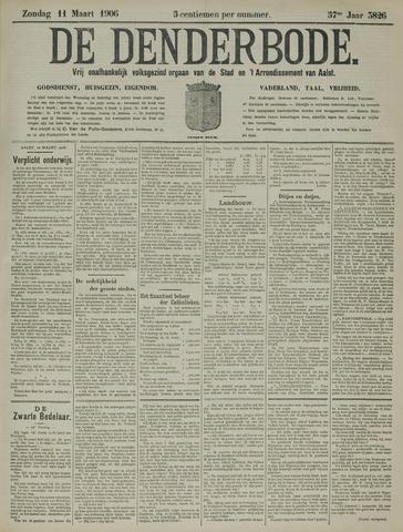 De Denderbode 1906-03-11