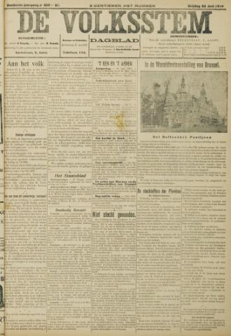 De Volksstem 1910-06-24