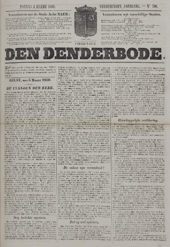 De Denderbode 1860-03-04