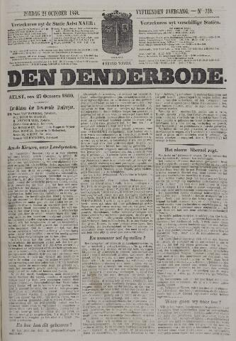 De Denderbode 1860-10-28