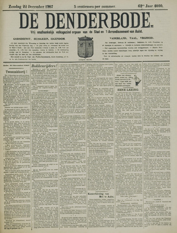 De Denderbode 1907-12-22
