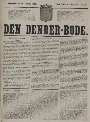 De Denderbode 1847-10-10
