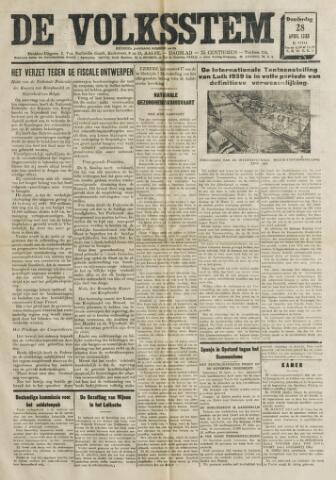 De Volksstem 1938-04-28
