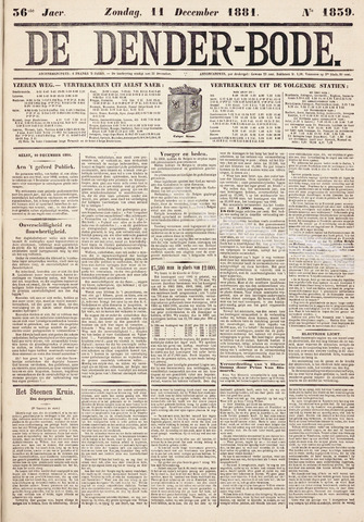 De Denderbode 1881-12-11
