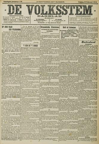 De Volksstem 1914-02-27