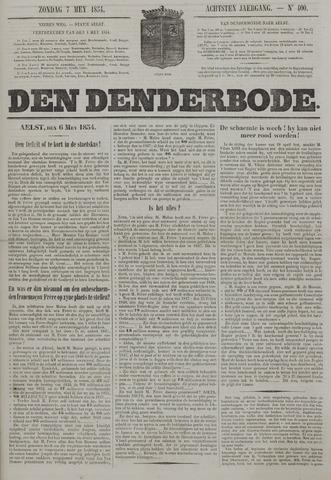 De Denderbode 1854-05-07