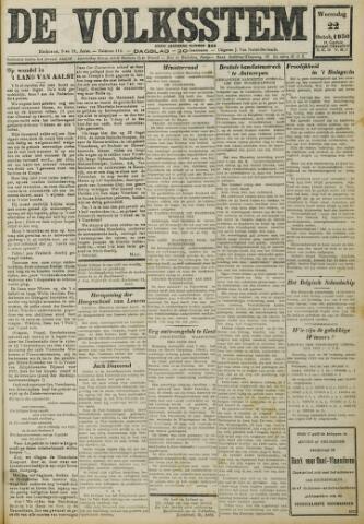 De Volksstem 1930-10-22
