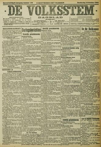 De Volksstem 1915-10-14