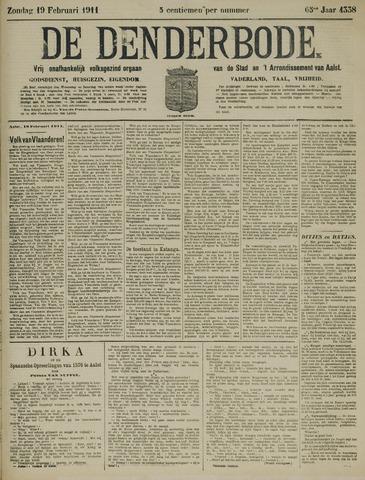 De Denderbode 1911-02-19