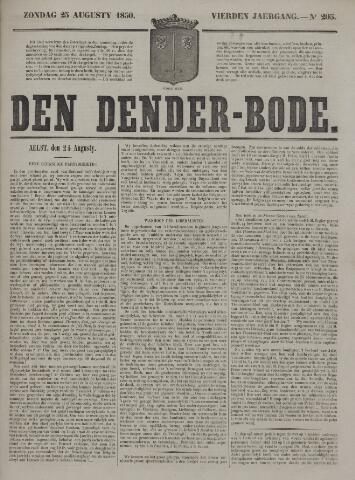 De Denderbode 1850-08-25