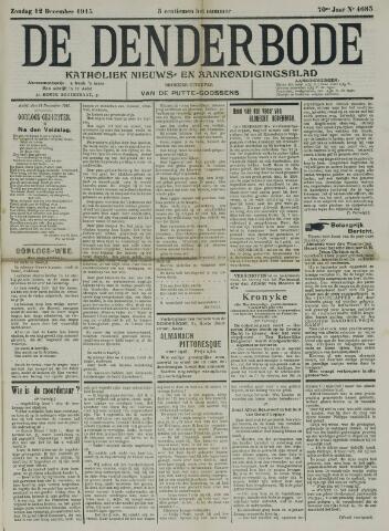 De Denderbode 1915-12-12