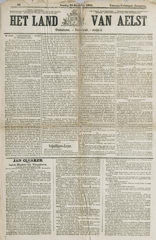 Het Land van Aelst 1881-12-25