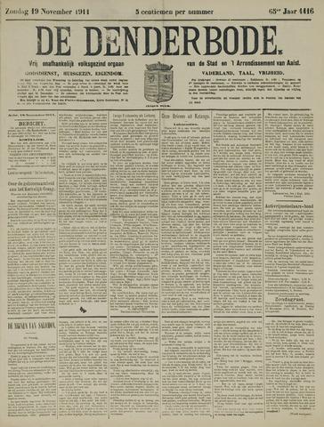 De Denderbode 1911-11-19