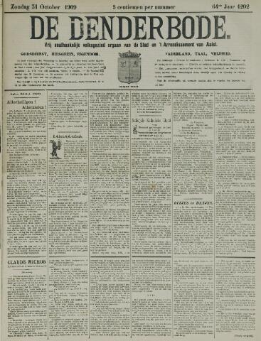 De Denderbode 1909-10-31