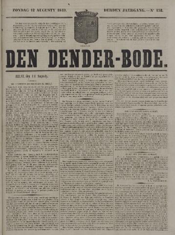 De Denderbode 1849-08-12