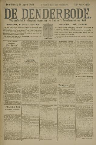 De Denderbode 1898-04-21