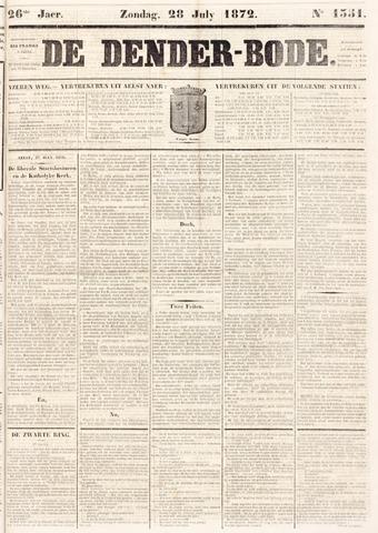 De Denderbode 1872-07-28