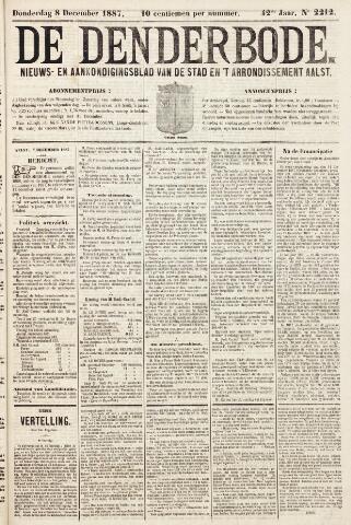 De Denderbode 1887-12-08