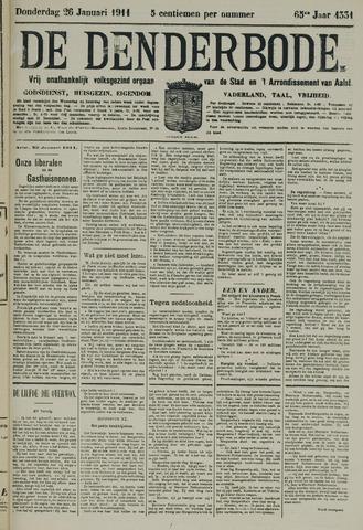De Denderbode 1911-01-26